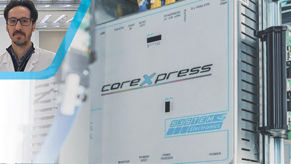 CoreXpress Luca Turrini Enginieering Manager